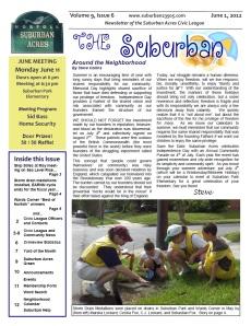 The Suburban, June 2012