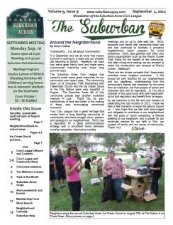 SEPT 2012 Suburban