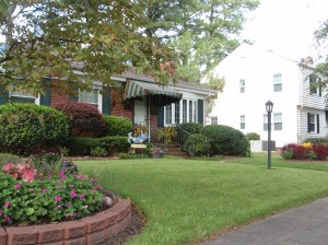 Congratulations to the Charles Leonard family of 219 Granby Park, winner of the August 2009 Yard of the Month