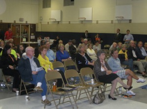 Our audience...more than 50 members and guests attended.
