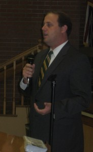 Commissioner of Revenue candidate Evans Poston (D)
