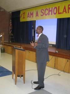 Treasurer candidate Vice Mayor and current Deputy City Treasurer Anthony Burfoot