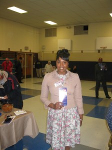 Commissioner of Revenue candidate Sherry Battle-Edmonds (I)