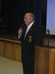 """Sheriff Robert """"Bobby"""" McCabe (D), incumbent"""