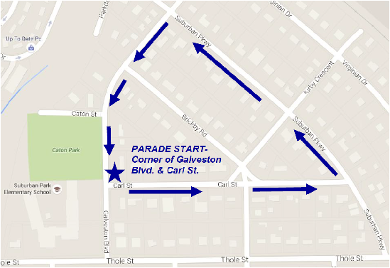 Parade Route 2016