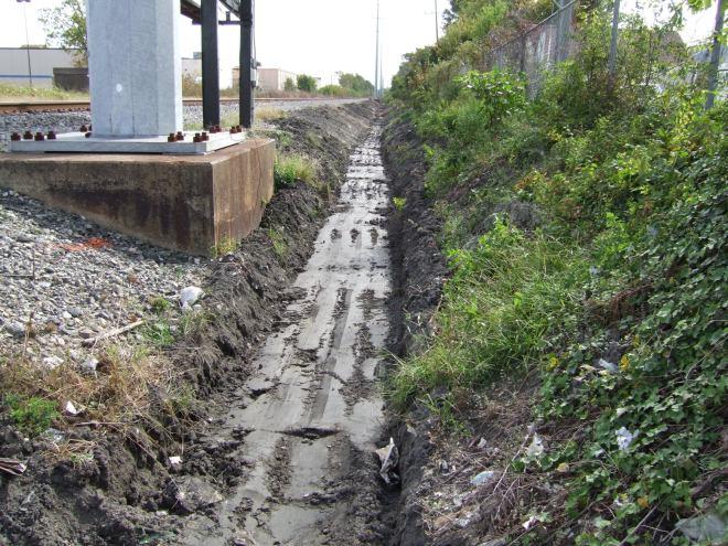 yorktown ditch